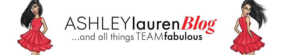 ASHLEYlauren Blog ...and all things TEAMfabulous