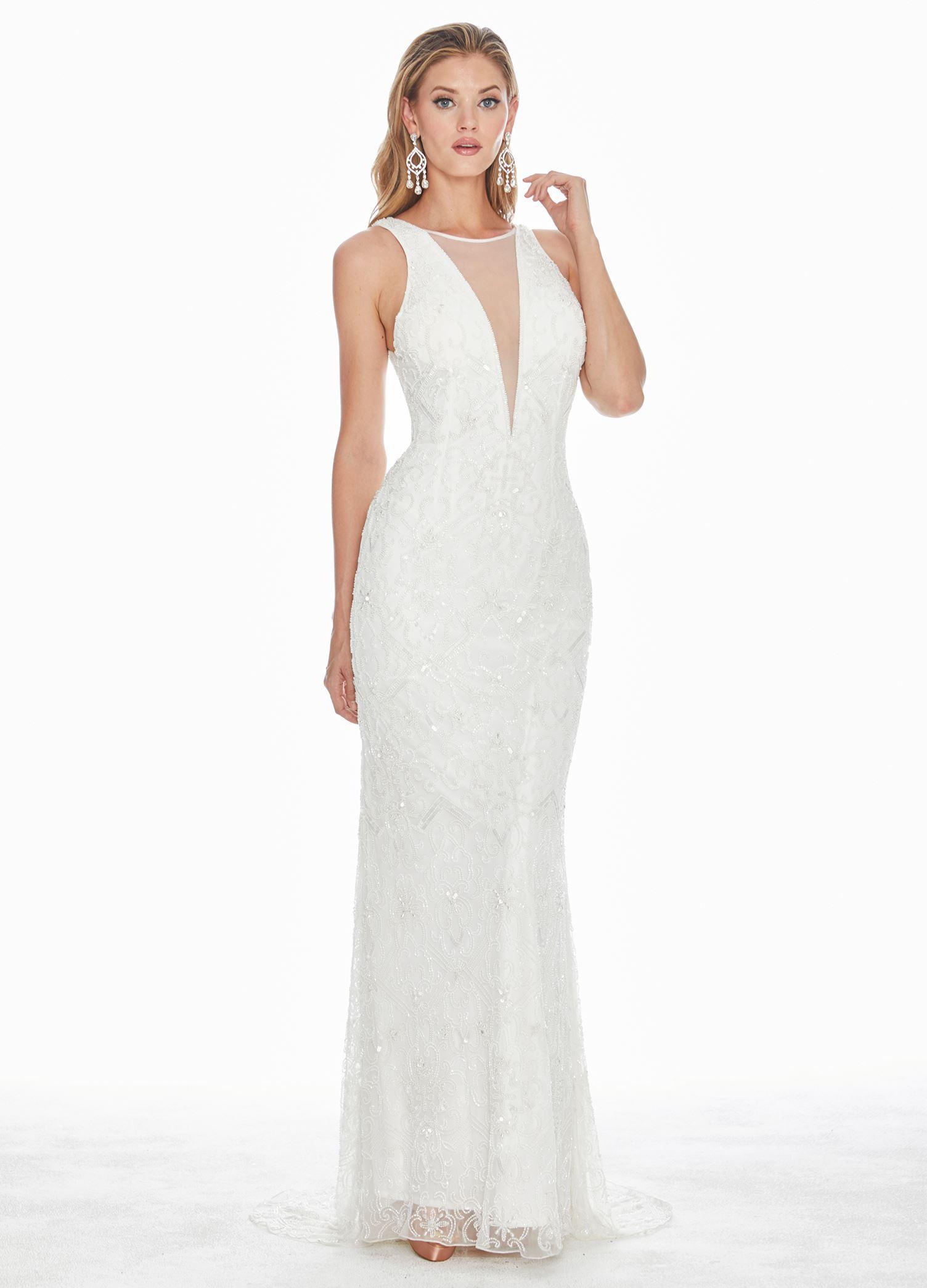f2dc0841 Ashley Lauren - Square Back Evening Dress | ASHLEYlauren
