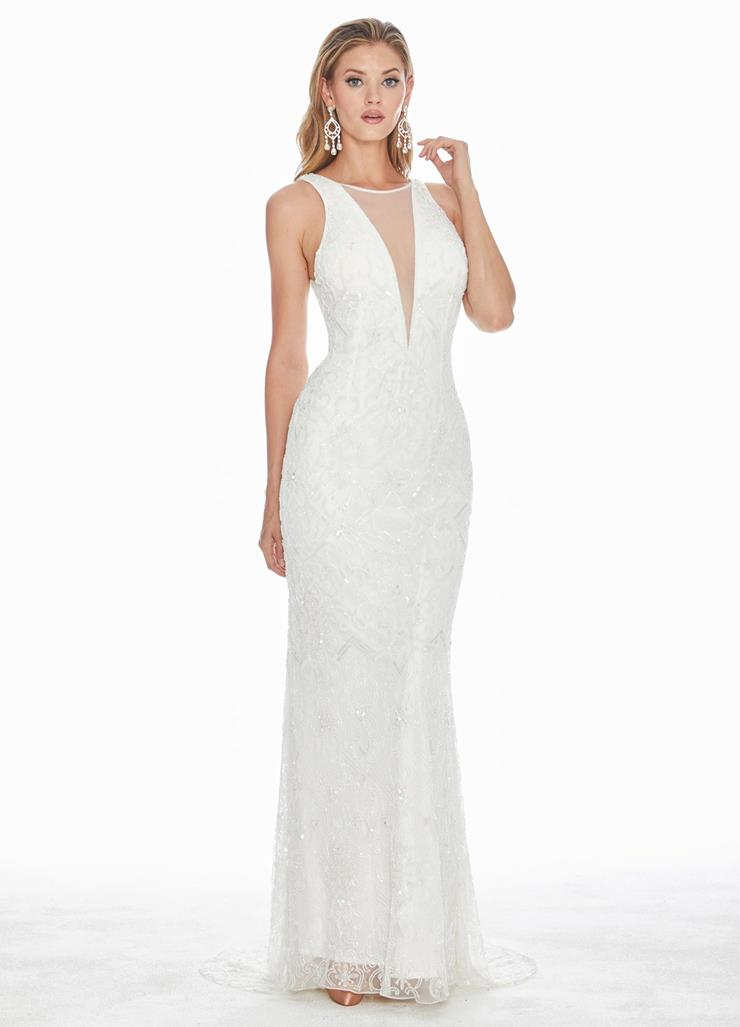 Ashley Lauren Square Back Evening Dress Image