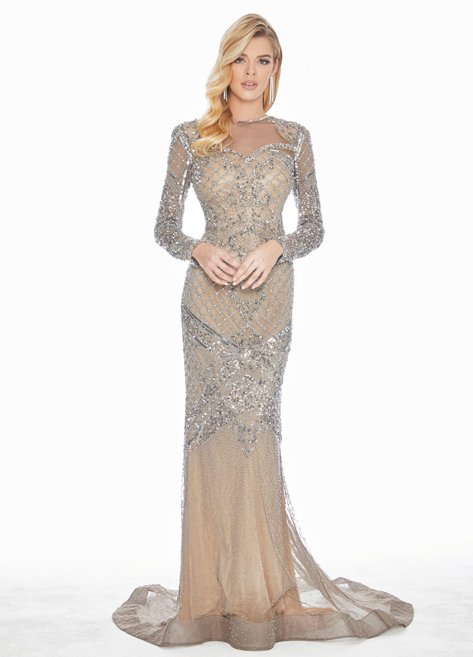 048ba7f13d9 Silver Evening Dress  Shop Silver Evening Dress - Macy s