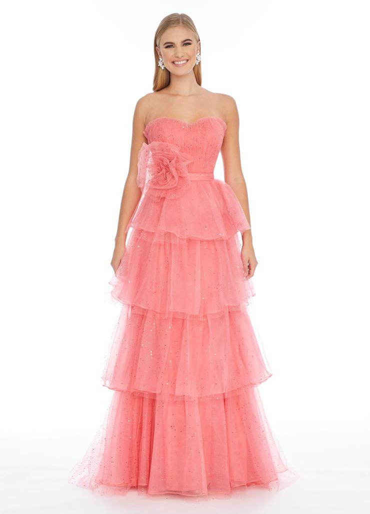 Ashley Lauren Sweetheart Neckline Gown with Tiers Image