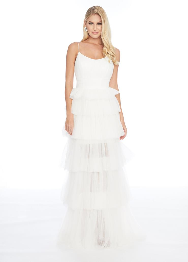 Ashley Lauren Tiered Tulle Gown Image