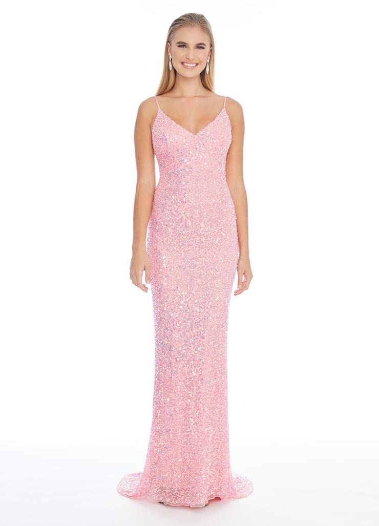 Ashley Lauren Fully Beaded Sweetheart Gown